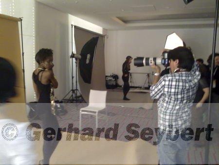 Hier Andres Rodriguez beim shooten