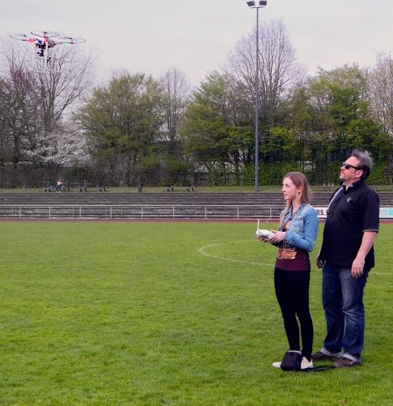 Drohnenflug bearbeitet