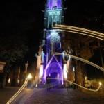 Lichtinstallation Basilika Kevelaer – Ohne Stativ unterwegs