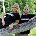 Fotoshooting für Merchandise der Band Cruisers und Luftbild Adventure-Park Xanten